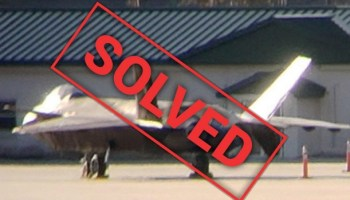 Mysterious Chinese fighter spotted in Georgia is an actual mockup made by the Marines