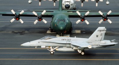 Update: One Marine dead, one recovering, and five still missing after Marine KC-130 and F/A-18 go down off the coast of Japan
