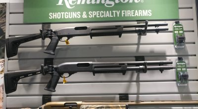 Remington Introduces a folding stock 870