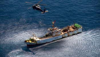 Fishing and Security: Chinese ships violate international laws with military support