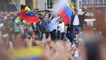 Move over, Maduro: Venezuela's opposition leader declares himself new president