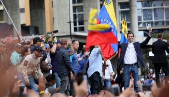 The Pic of the Day: Venezuelan Opposition Leader Declares Himself Interim President