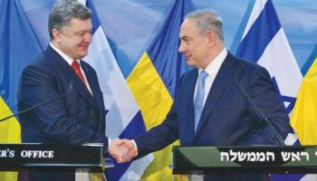 To Russia's chagrin, Israel and Ukraine improve diplomatic ties