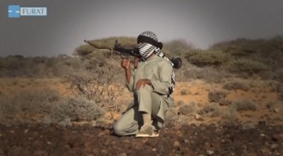 ISIS fighter in Puntland, Somalia