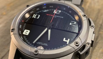 MTM Special Ops Status | A low-vis smart watch in a classic case