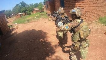 Watch: Portuguese paratroopers raid rebel stronghold in Central African Republic