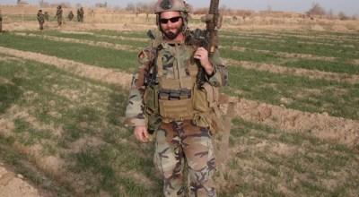 Major Matthew Golsteyn in Afghanistan via Twitter