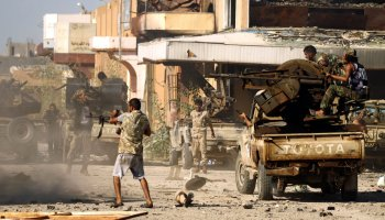 The Libyan National Army attacks the city of Murzuk, taking further control of Libya's southern region