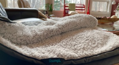 Sherpa Blanket from Rumpl: Polar Vortex approved