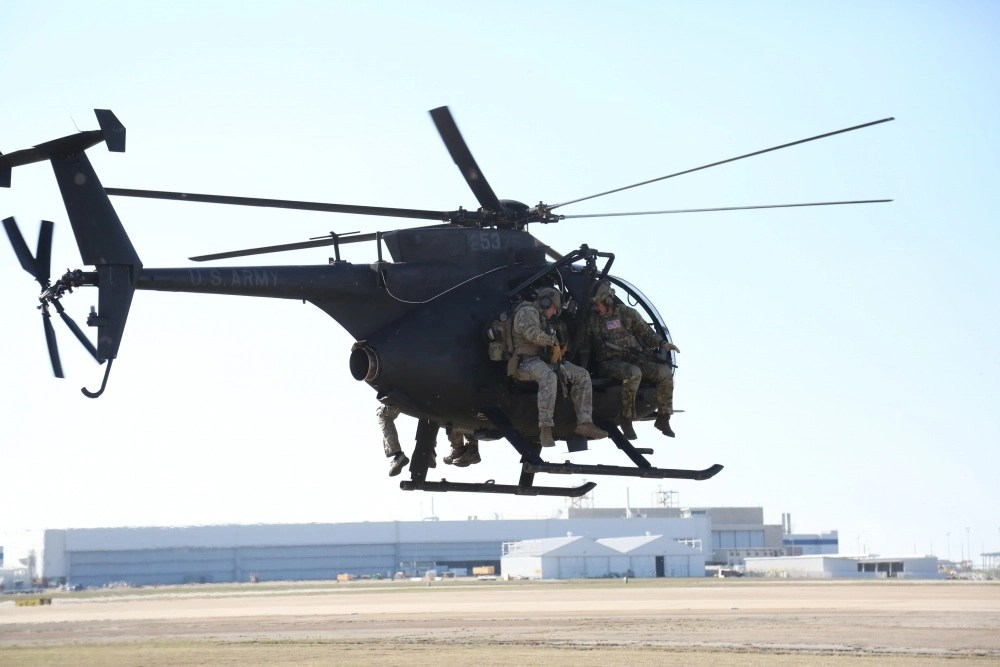 Joint Special Operation Command buzzes downtown LA