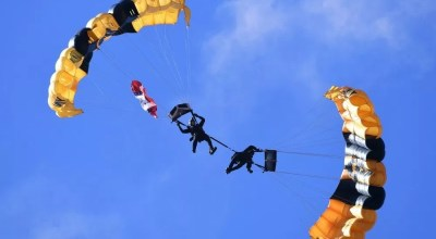 Three soldiers assigned to the US Army's Golden Knights critically injured in skydiving accident