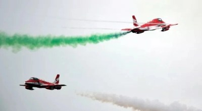 One pilot confirmed dead after two Indian Air Force planes collide during training