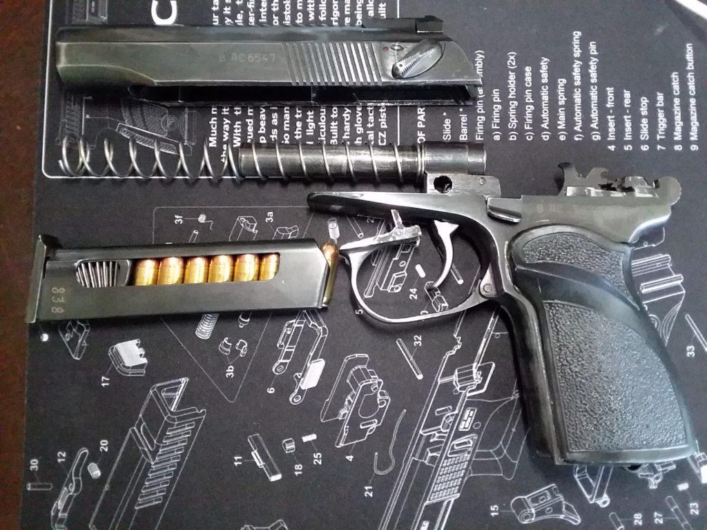 The Russian Makarov service pistol