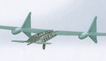 Russia's weird flying AK-47 drone is as useless as it is interesting
