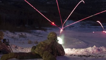 The Pic of the Day: Paratroopers conduct live fire training in Alaska to prepare for Arctic warfare