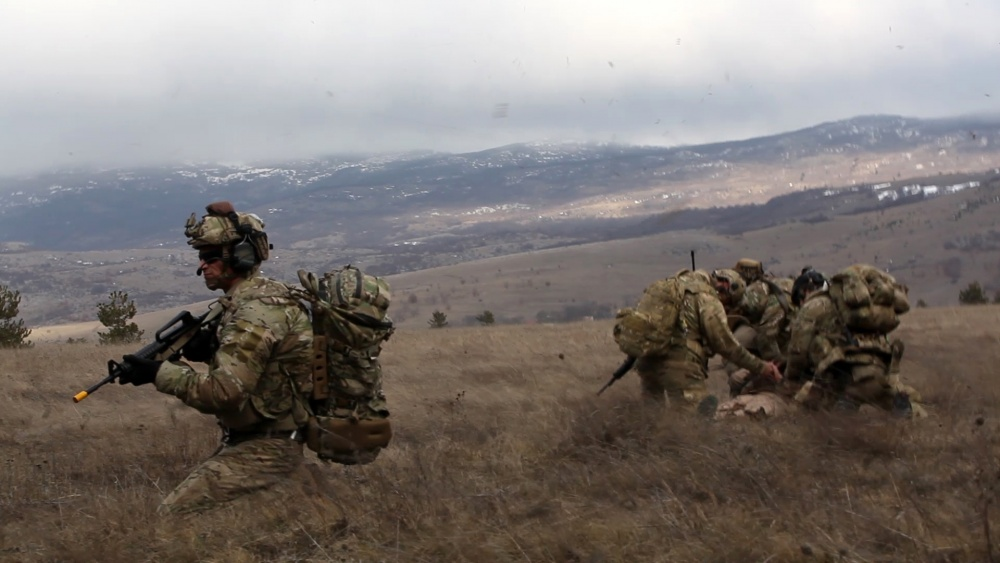 What happens if a spec ops team needs help in Africa? Meet their Quick Reaction Force