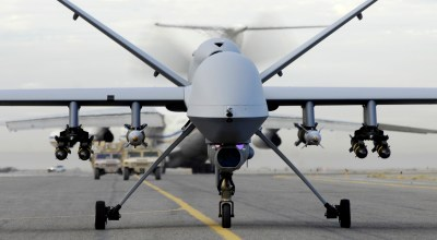 The little known story of how a US Air Force MQ-9 Reaper shot down another drone with a heat seeking missile