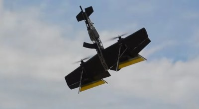 Russia actually built their insane AK-drone – watch it dogfight a remote control airplane