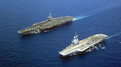 Political leaders propose the adoption of a shared European Union aircraft carrier