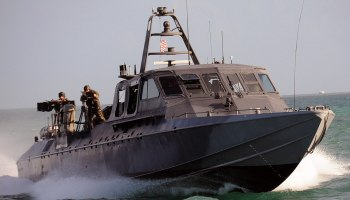 Tactical yachting? Navy puts special operations boat, built for SEALs, on the market