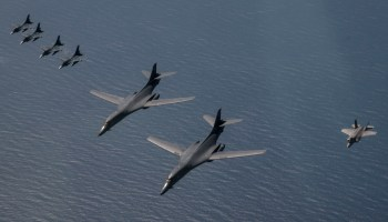 The legendary B-1B Lancer may find a new lease on life in the era of naval posturing