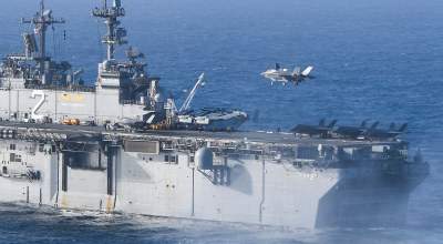 The US can launch F-35s from way more ships than you might think