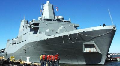 USS Arlington courtesy of the U.S. Navy