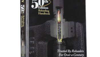 Getting started reloading? Lyman's 50th Edition Reloading Handbook