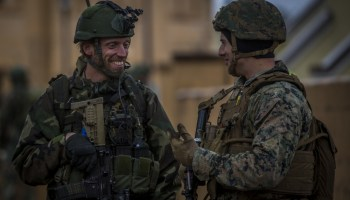 Dutch Raiders train with U.S. Marines on Carolina coast