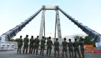 Watch: Col Moschin Raiders' demolish Morandi Bridge