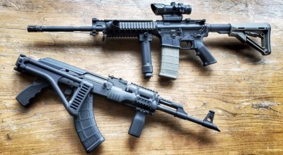 Choosing between the AR-15 and the AK-47