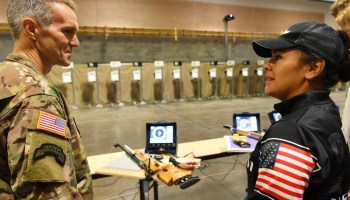 The Pic of the Day: Spec Ops chief visits DoD Warrior Games