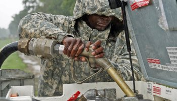 Louisiana National Guard on frontlines of hurricane response shortly after grueling training exercise