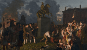 The Battle for New York City, 1776: A symbolic gesture