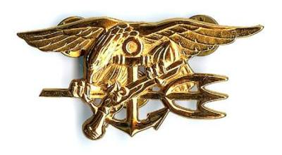 The Navy SEAL Trident. (Image courtesy of Naval Special Warfare Command.)