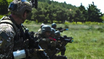 American and EU commandos assess the regional SOF command concept