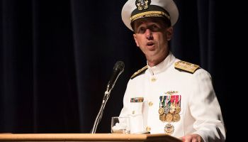 Retiring Chief of Naval Operations blames deployment fatigue for Navy SEAL controversies