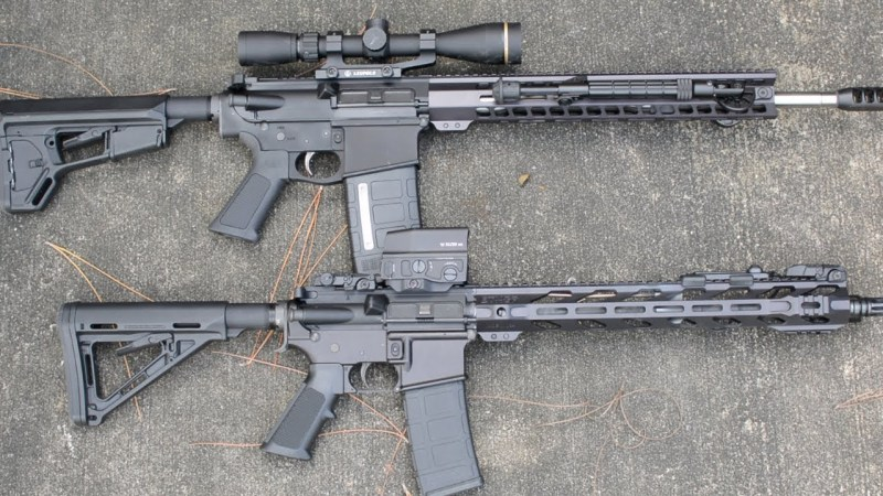 AR-10 vs. AR-15: What's the difference?   SOFREP