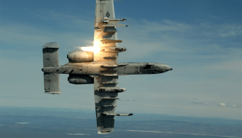 Air Force A-10 accidentally fires rocket near Tucson during training mission