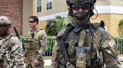 A Finnish commando from the Special Jaeger Battalion, Utti Iceberg Regiment, after a combined exercise with U.S. Special Operations Forces in Tampa, Florida. (Image courtesy of YouTube.com).