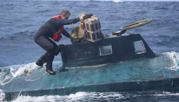 Watch: Coast Guard nabs another 'narco sub' with 12,000 lbs of cocaine inside