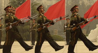 Chinese Honor Guard (Wikimedia Commons)