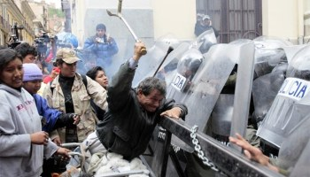 At least 8 more dead as violence rages in Bolivia