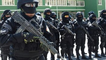 "Bolivia unveils new Anti-Terrorist Unit against ""threatening foreigners"""