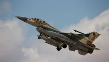 "Israelis hit Iran's ""land bridge"" in Syria with airstrikes"