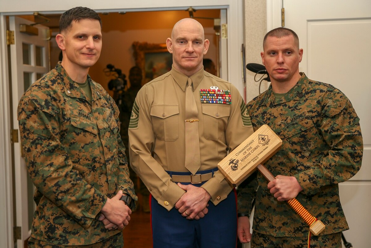 1st Recon Battalion voted the fittest unit in the Marine Corps ...