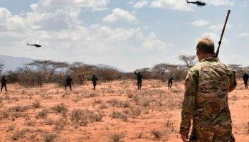 Air Force continues to pound Al-Shabaab targets in Somalia