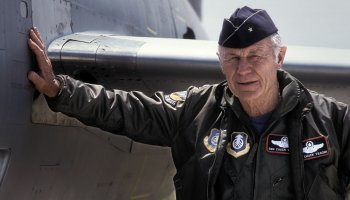 Chuck Yeager: The Air Force's world record-breaker turns 97 today