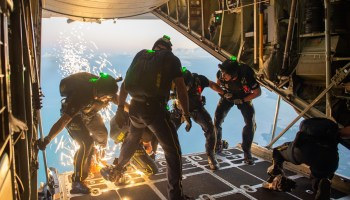 Airborne Operations can always be an adventure in Special Operations