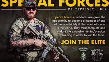 Special Forces operator hounded by leadership catches a break